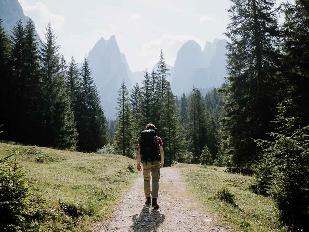 Hüttenwanderung Dolomiten
