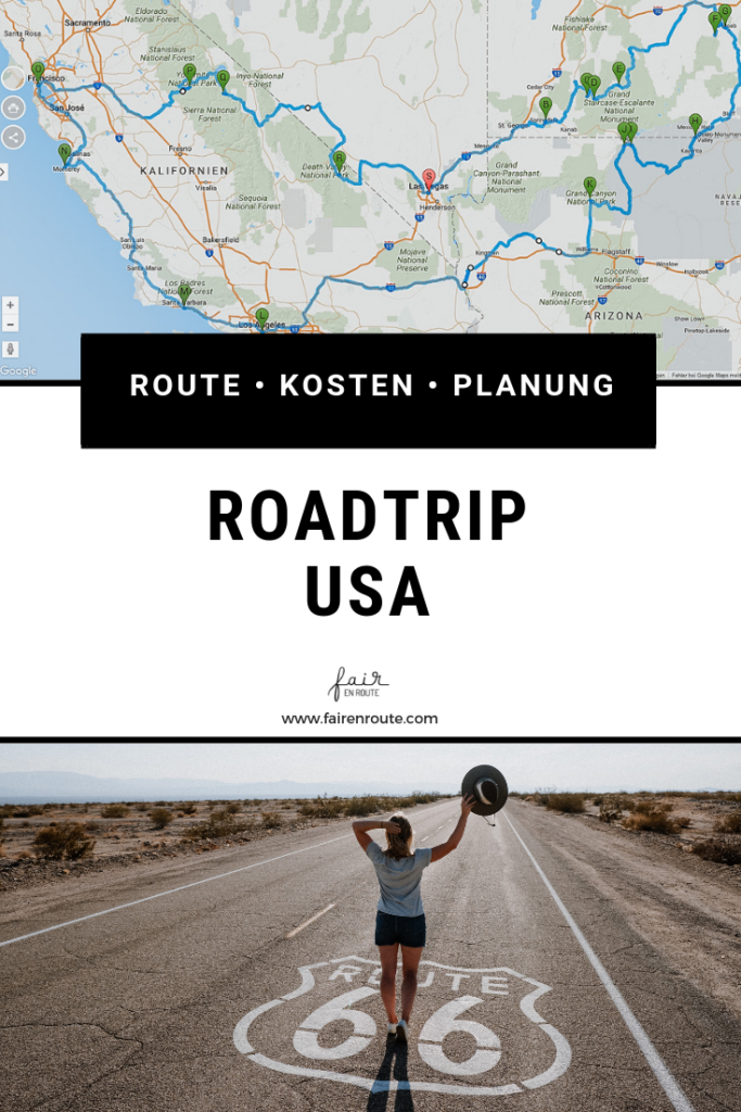 Roadtrip USA pin it