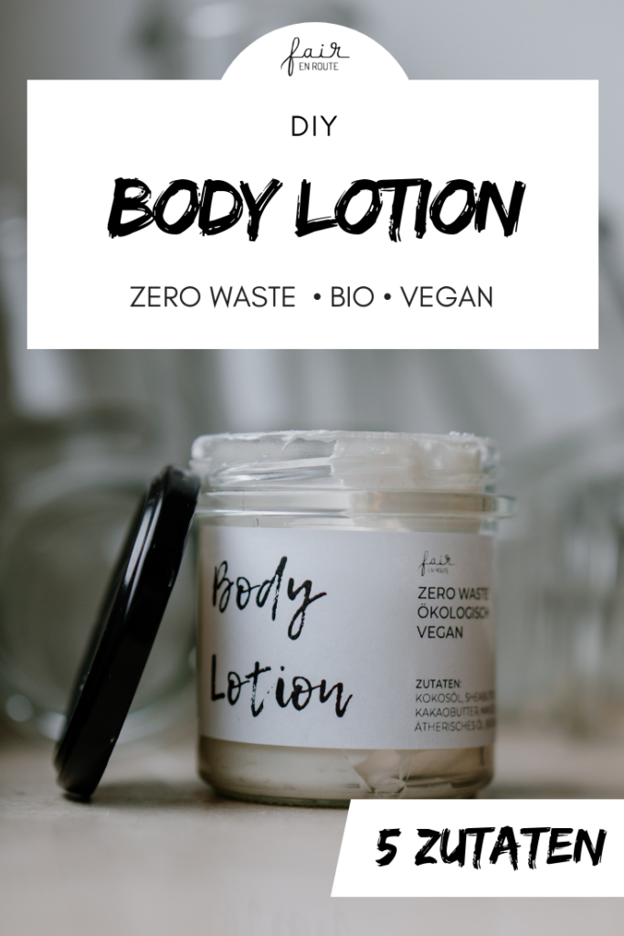 DIY Bodylotion Pin It
