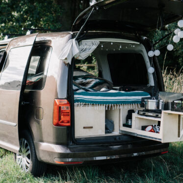 Vanlife mit dem Minicamper