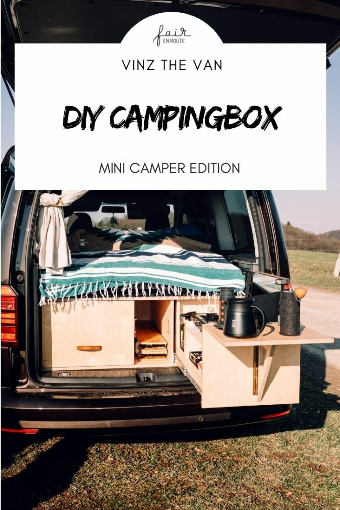 Pin It DIY Campingbox Minicamper