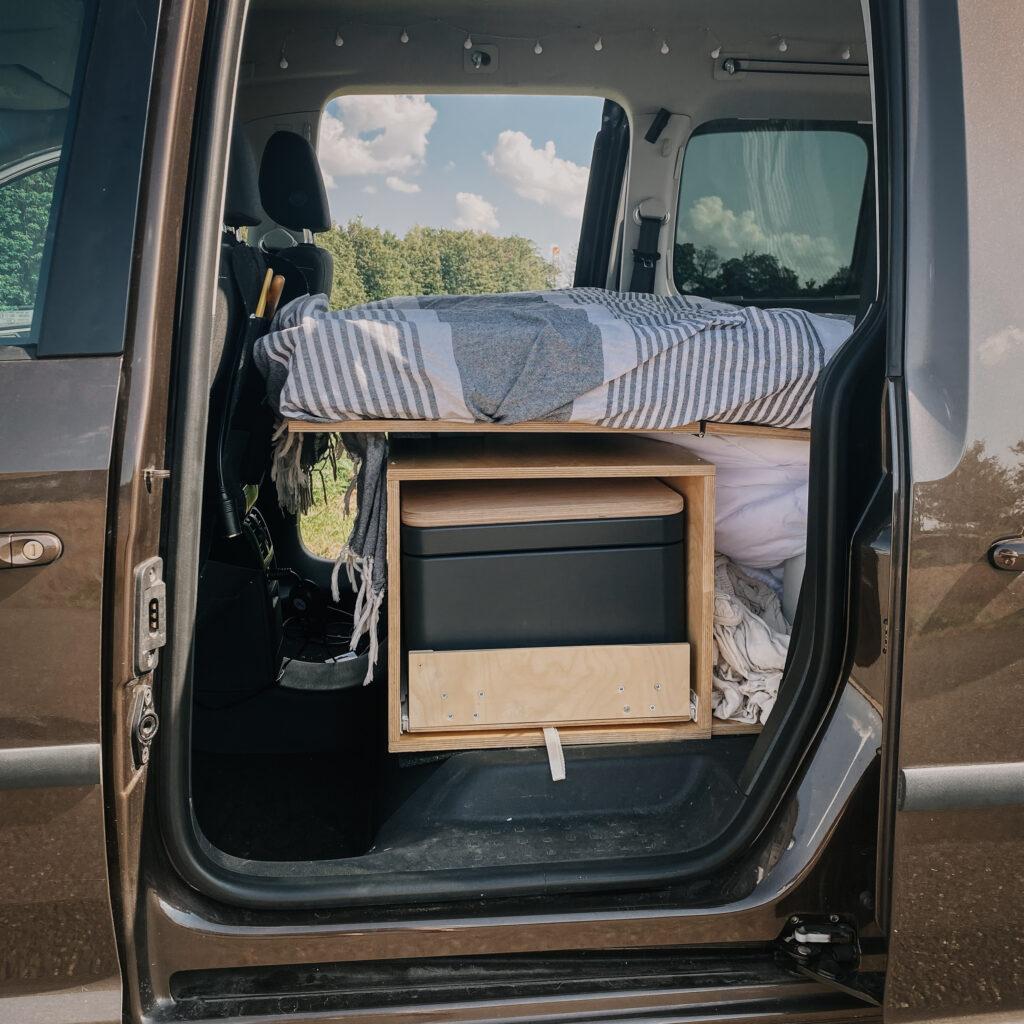 Campingklo im Minivan